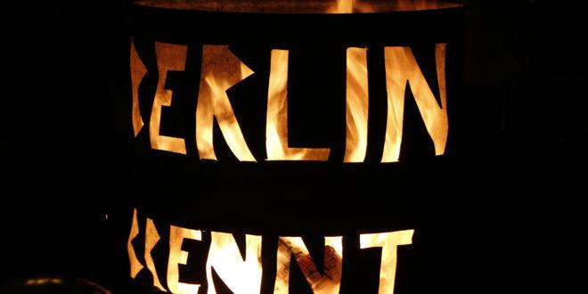 BerlinBrennt Tonne